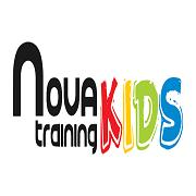 Nova Training Kids logo (fondo transparente)